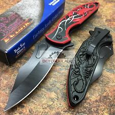 Dark Side Blades Red Scorpion Tactical Hunting Rescue Pocket Knife DS-A048BR