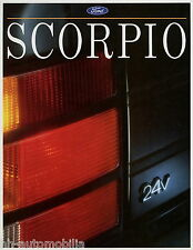 Ford scorpio folleto 1991 2/91 105064 auto folleto folleto brochure broschyr