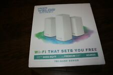 New Linksys Velop AC4600 Mesh Whole Home Wi-Fi System Tri-Band Series VLP0203