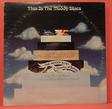 THIS IS THE MOODY BLUES VINYL 2X LP 1974 ORIGINAL PRESS NICE COND! VG+/VG+!!A