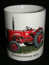 Internationales B250 Vintage Traktor Geschenk Tasse