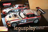 Slot car SCX Scalextric Carrera 27381 Evolution Mercedes-Benz SLS AMG GT3