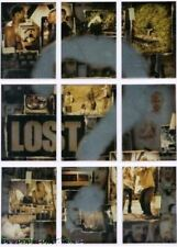 LOST SEASON 2 -  ? QUESTION MARK - FOIL INSERT CHASE PUZZLE CARD SET ?-1 TO ?-9