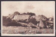 SASSARI OLBIA TEMPIO LA MADDALENA 13 CAPRERA GARIBALDI Cartolina viaggiata 1928