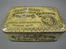 Antique 1800s Old Tar Cut Cavendish Smoking Tobacco Tin
