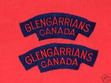 GLENGARRIANS CANADA Cloth Shoulder Flashes