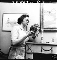 LASSIE JUNE LOCKHART AT HOME RARE 1957 NBC TV PHOTO