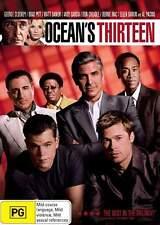 OCEAN'S THIRTEEN - BRAND NEW/SEALED DVD (MATT DAMON, BRAD PITT, GEORGE CLOONEY)