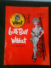 Lucille Ball WILDCAT Program w/HTF Pinback