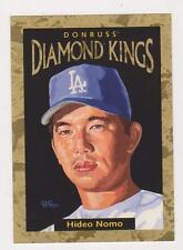 1996 Donruss Diamond Kings #27 Hideo Nomo #6144/10,000.