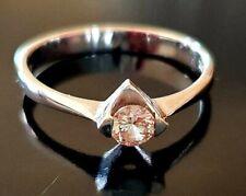 Diamond Engagement Ring (P) - 1/4ct Diamond set on White Gold (18K-750)