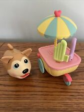 Chubby Puppies & Friends-Husky- Ice Cream Cart Playset