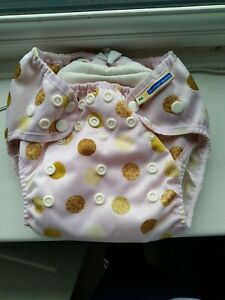 Motherease Wizard Uno One Size Dot washable nappy