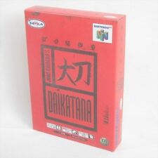 DAIKATANA Dai Katana Brand New Nintendo 64 Import Japan Video Game aba n6