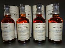 Balvenie TUN 1509 Batch 1-4, Single Malt Whisky, Sammlung alle 700ml 47,1%-52,2%
