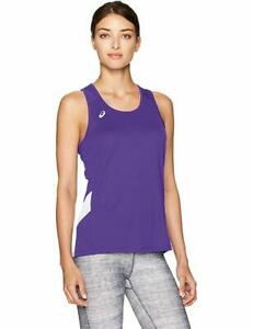 ASICS Women's Sweep Singlet Top, Color Options
