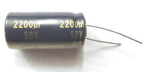 2200uf 50v 105c LOW ESR Size 18mmx 35.5mm  Panasonic EEUFC1H222