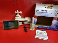 🔥Acu-Rite Weather Station 5 in 1 01603/01140 Color Screen. See Pics & Read!Bass