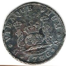 (Pgasteelers1) Mexico 1736 Mo 4 Reales Phillip V MF KM#94 Sea Slavaged -Rare
