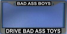 Bad Ass Boys Drive Bad Ass Toys Black License Plate Frame