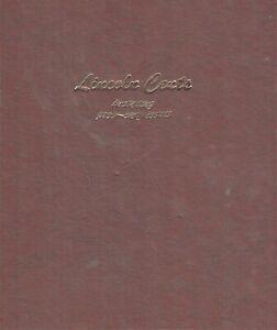 1909-2013 Lincoln Cent Collection - No 1909S VDB or 1922 Plain - Dansco Album
