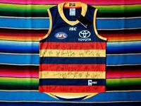 ✺Signed✺ 2019 ADELAIDE CROWS AFL Guernsey Club Issued COA Jersey Jumper