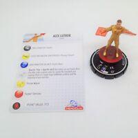 Heroclix Crisis set Alex Luthor #054 Super Rare figure w/card!