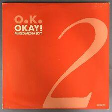 O.K. - Okay! (Mixed Media Edit) Seven Eleven Records SPV-50-3760 Ex Condition