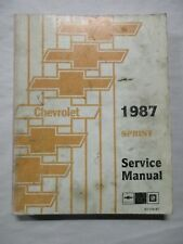 1987 chevy sprint turbo wiring diagram electrical wiring diagrams rh wiringforall today