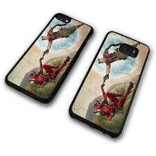 Deadpool 2 Cable And Wade Funny Vintage Painting Phone Case Cover