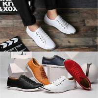 Summer Mens Casual Leather Shoes Fashion Sneakers Sport  Shoes Large Size 10-13