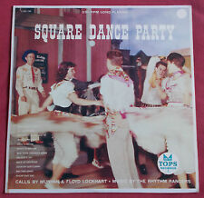 SQUARE DANCE PARTY  LP ORIG US RHYTHM RANGERS  WESTERN COUNTRY