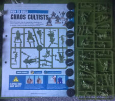 Warhammer 40K - BRAND NEW Death Guard - 10x Chaos Cultists (REF 4) Exc Con
