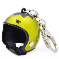 Creative Motorcycle Bicycle Helmet Key Chain Ring Keychain Keyring Key Mini 01