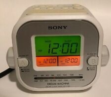 Sony Dream Machine FM/AM Clock Radio ICF-C180