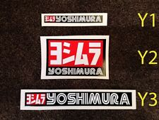Yoshimura exhaust muffler heat resistant sticker stickers decal decals (many!!!)