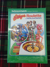 Intellivision LAS VEGAS ROULETTEE Video Game Still Sealed Mattel Electronics