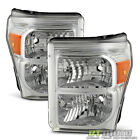 2011-2016 Ford F250 F350 F450 Super Duty Headlights Replacement 11-16 Headlamps  for sale