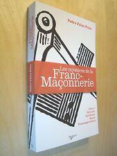 Palao Pons Les mystères de la franc-Maçonnerie Histoire Hiérarchie Symbolisme...