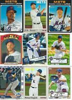 NEW YORK METS HUGE BASEBALL CARD LOT(850+) CHRIS DONNELS AUTOGRAPH