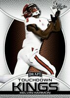 "Kelvin Harmon 2019 Foglia "" 1st Ever Stampato "" Touchdown Kings Rookie Card"
