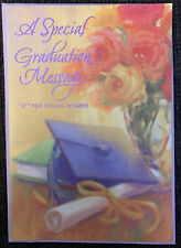 HALLMARK GRADUATION FOR YOUNG WOMAN GREETING CARD