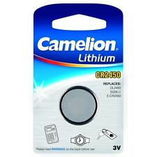 Blister 1 Pile bouton CR2450 3V Lithium Camelion, 2 piles achetées = 1 offerte !
