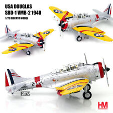 HOBBY MASTER USA Douglas SBD-1 VMB-2 1940 1/72 diecast plane model aircraft
