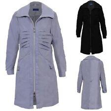 Women's Lightweight Shower Proof Long Sleeve Ladies Casual Jacket Raincoat