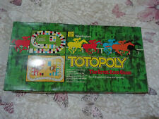 VINTAGE 1978 TOTOPOLY HORSE RACE BOARD GAME BY WADDINGTONS 100% COMPLETE
