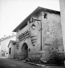SUISSE c. 1949 - Château Lanterne Police Bourg Lutry - Négatif 6 x 6 - Sui 183