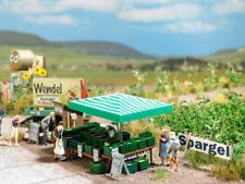Busch 1074 Spargel Verkauf Stand Verkaufsstand Bausatz H0 1:87 Neu