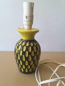 Vintage 1960's BITOSSI ? ceramic lamp base Aldo Londi Base made in Italy.