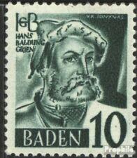 Franz. Zone-Baden 33 met gomstrook 1948 Postzegels